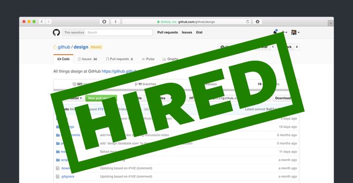 How I Got Hired by GitHub Real design homework that landed the job.